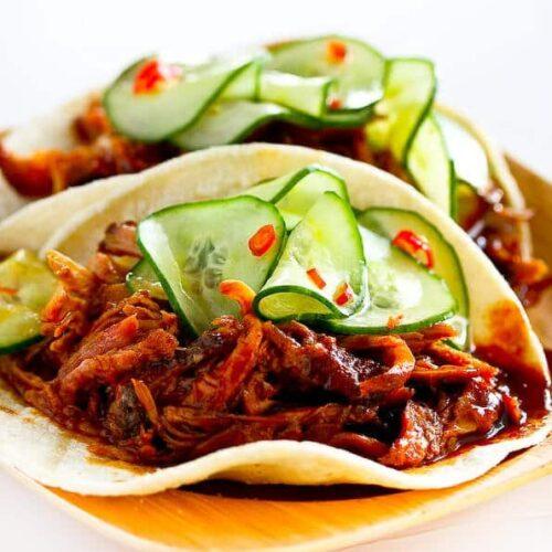 Korean BBQ taco
