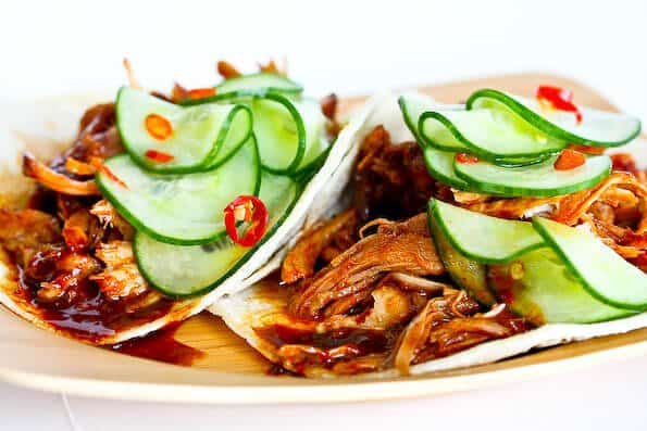Korean Style Tacos with Kogi BBQ Sauce - Steamy Kitchen ...