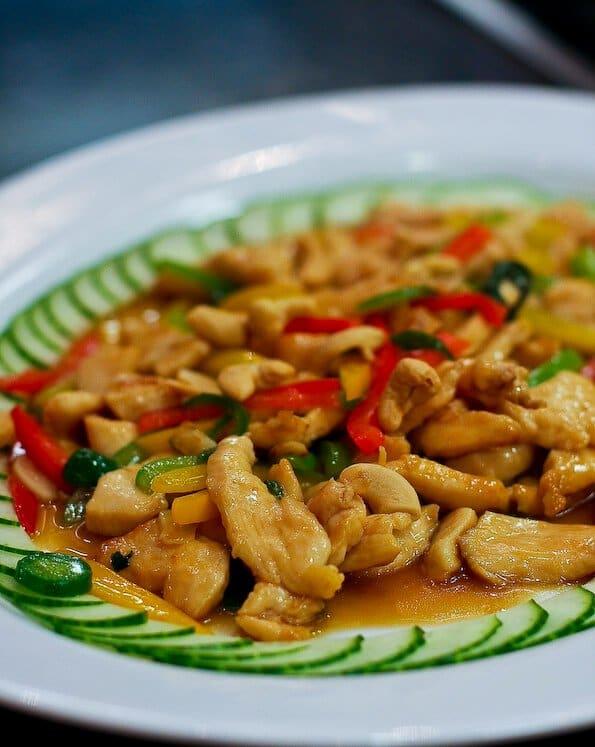 Thai Basil Chicken with Cashew