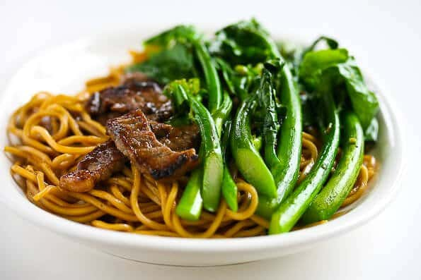 Chinese Broccoli Beef Noodle Stir Fry Recipe