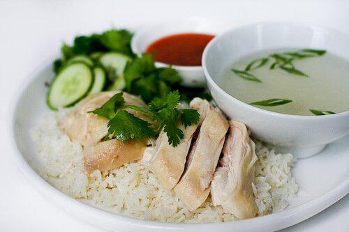 Ricetta del riso del pollo di Hainanese
