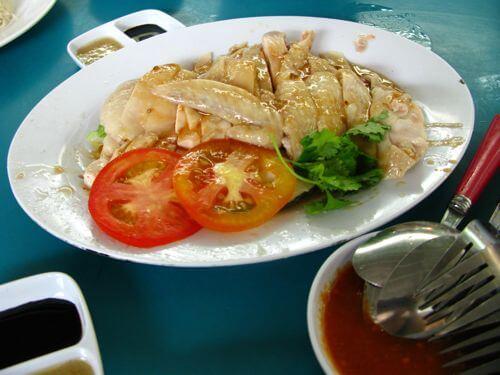 Ricetta del riso del pollo di Hainanese - autentico piatto di Singapore