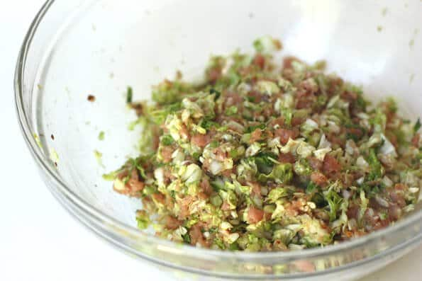 Gyoza Recipe - Gyoza filling