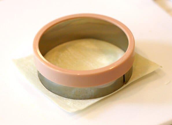 Gyoza Recipe - Cut wonton wrappers into circles