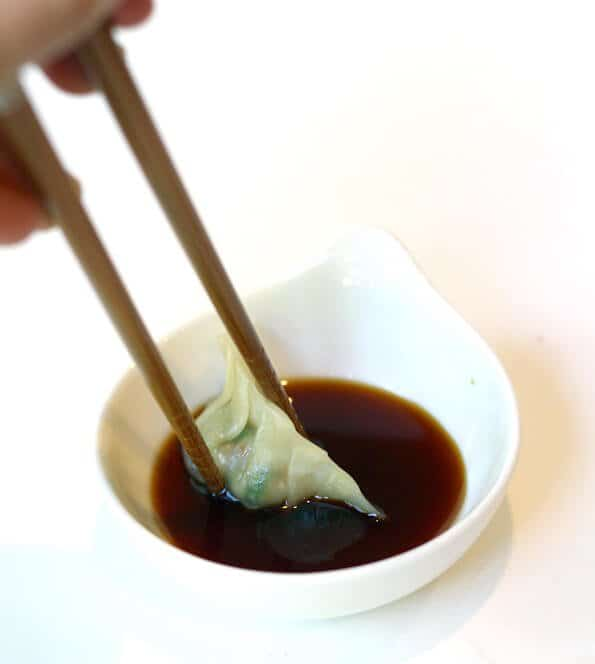 Gyoza Recipe - Dipping sauce