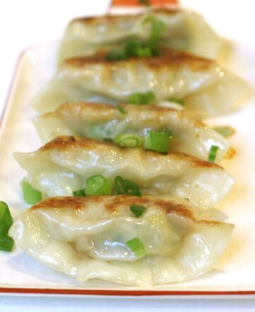 Pan-fried Gyoza