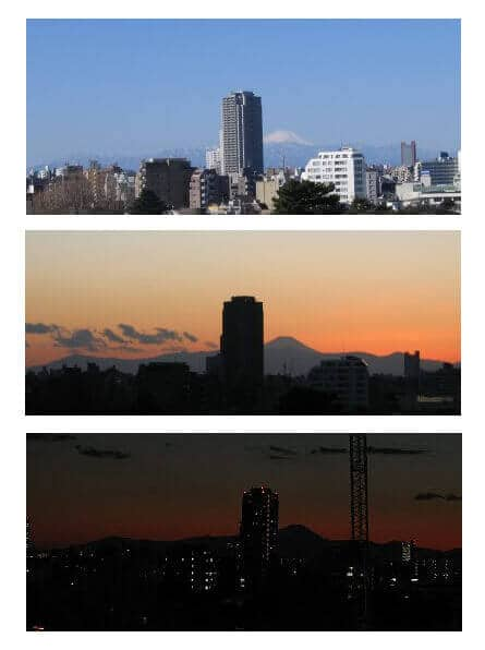 Gyoza Recipe - View of Mt Fuji