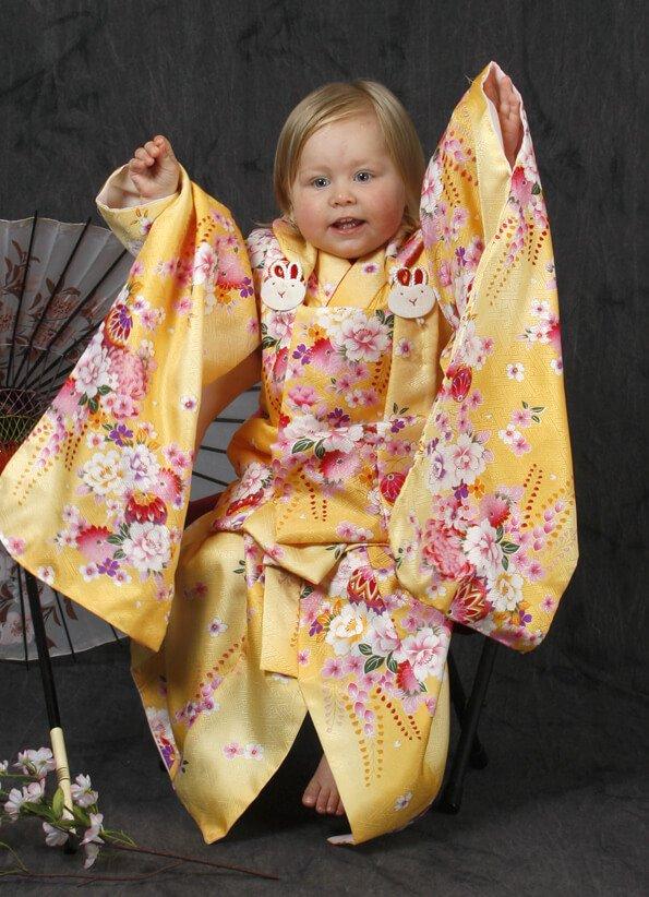 Squirrel in Kimono