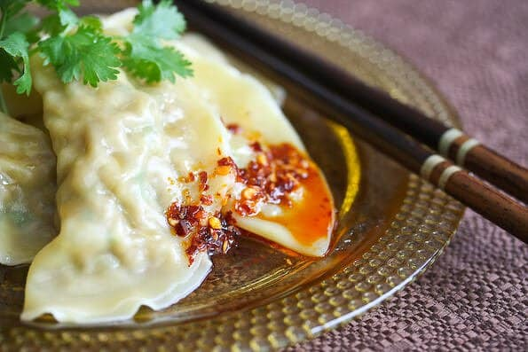 Chinese Boiled Pork Dumplings Recipe