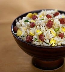 steamy-kitchen-book-tour-chinese-sausage-fried-rice