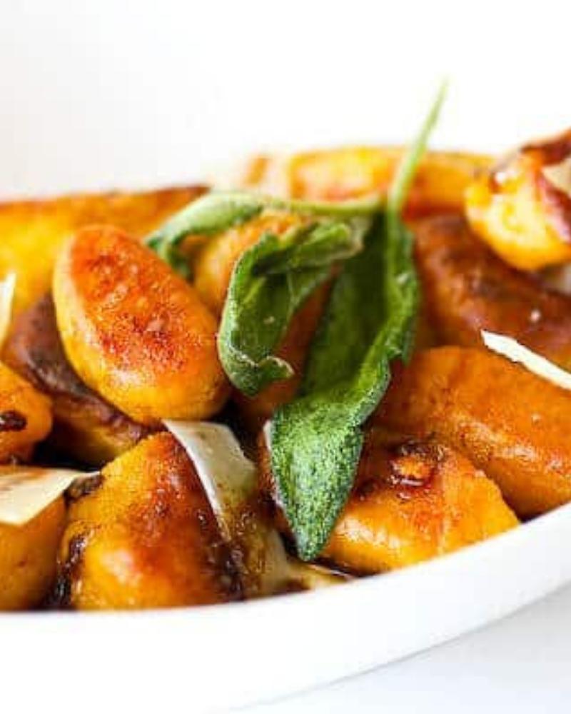 Pan-Fried Pumpkin Gnocchi with Brown Butter Sage