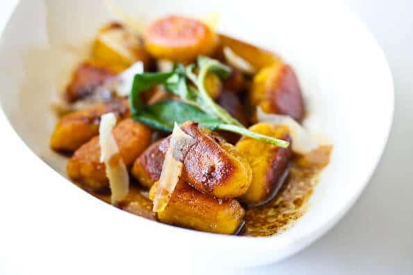 Pan-Fried Pumpkin Gnocchi with Brown Butter Sage - Steamy Kitchen ...