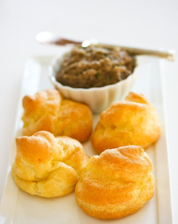 pate a choux cream puff pastry recipe