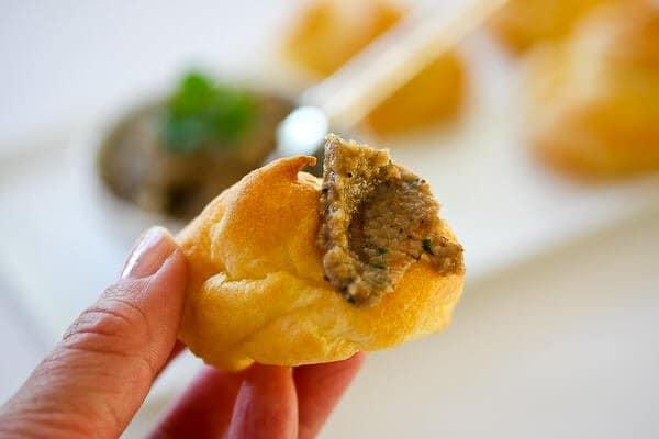 Pate a Choux Recipe - mushroom pate