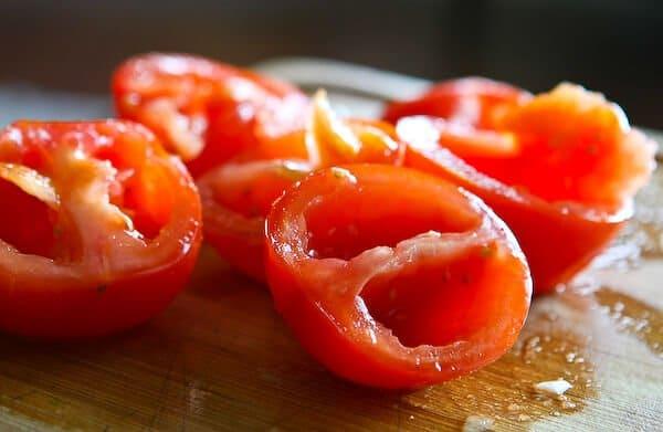 Scarpetta's Spaghetti Recipe - tomatoes