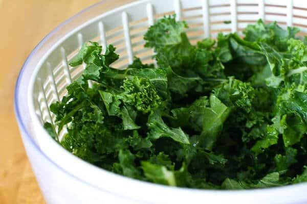 Kale Chips Recipe - drying