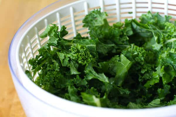 Kale Chips Recipe - drying