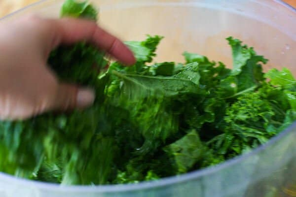 Kale Chips Recipe - toss