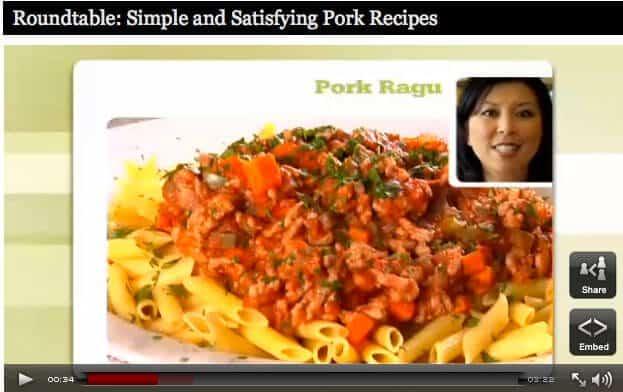 Pork Ragu Recipe