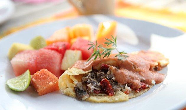 Rancho La Puerta Omelet Recipe