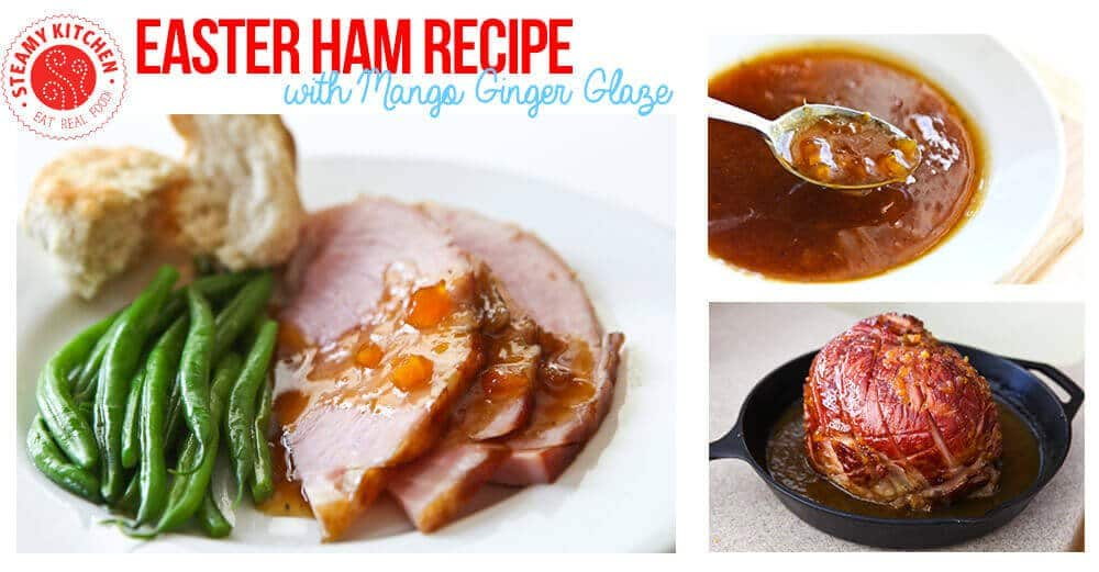 Easter Ham Recipe With Mango Ginger Glaze 6 Ingredients