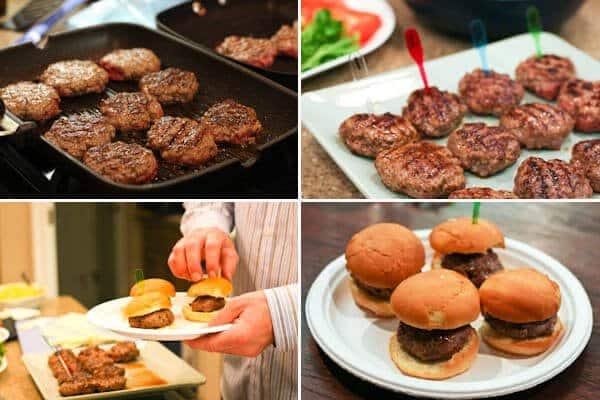 Artisan Beef Burger Tasting