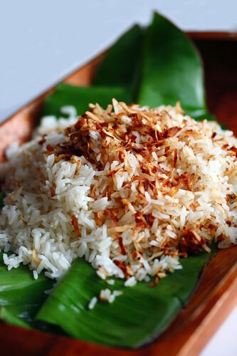 Coconut Rice Recipe - Steamy Kitchen Recipes