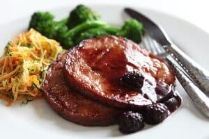 Easter Blackberry Rum Glazed Ham Recipe
