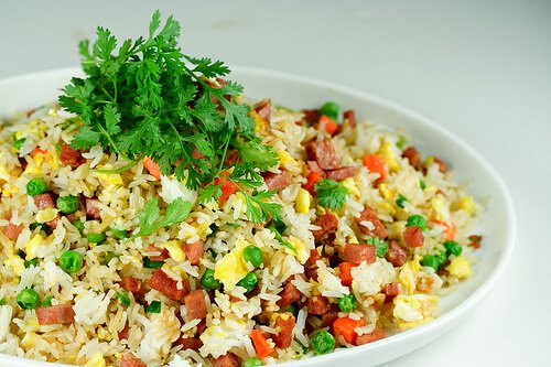 Spam Fried Rice - Steamy Kitchen Recipes