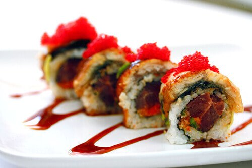 Spicy Tuna-Unagi Roll