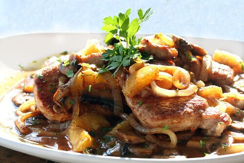 Tandoori-Orange Spiced Pork Chops