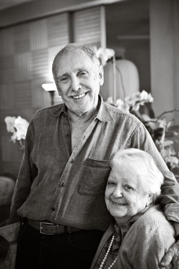 Marcella and Victor Hazan