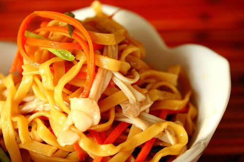 15 Minute Asian Noodles