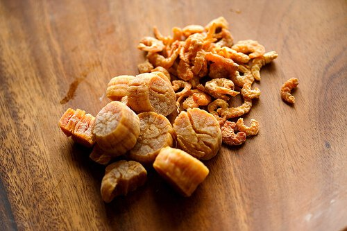 dried scallops and dried shrimp