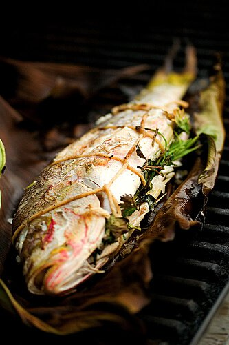 Grilled Whole Fish Recipe