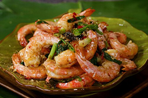 Malaysian Coconut Butter Prawns