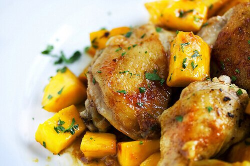 Mango Curry Chicken