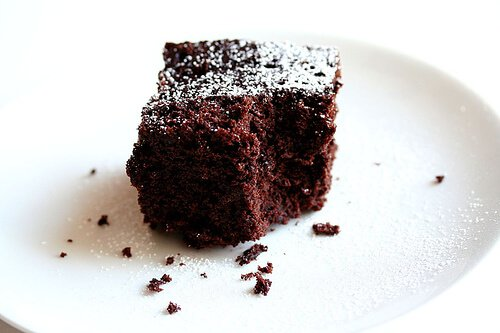 Negative Calorie Chocolate Cake