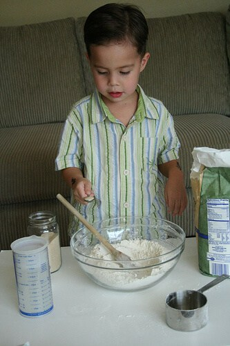 Add yeast for the No Knead Bread