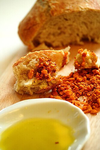 Bread with Olive Oil and Dukkah Dip