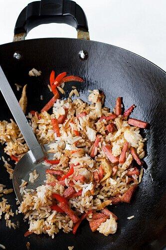 Pork Roll Fried Rice