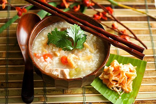 Chinese Turkey Congee Rice Porridge Jook