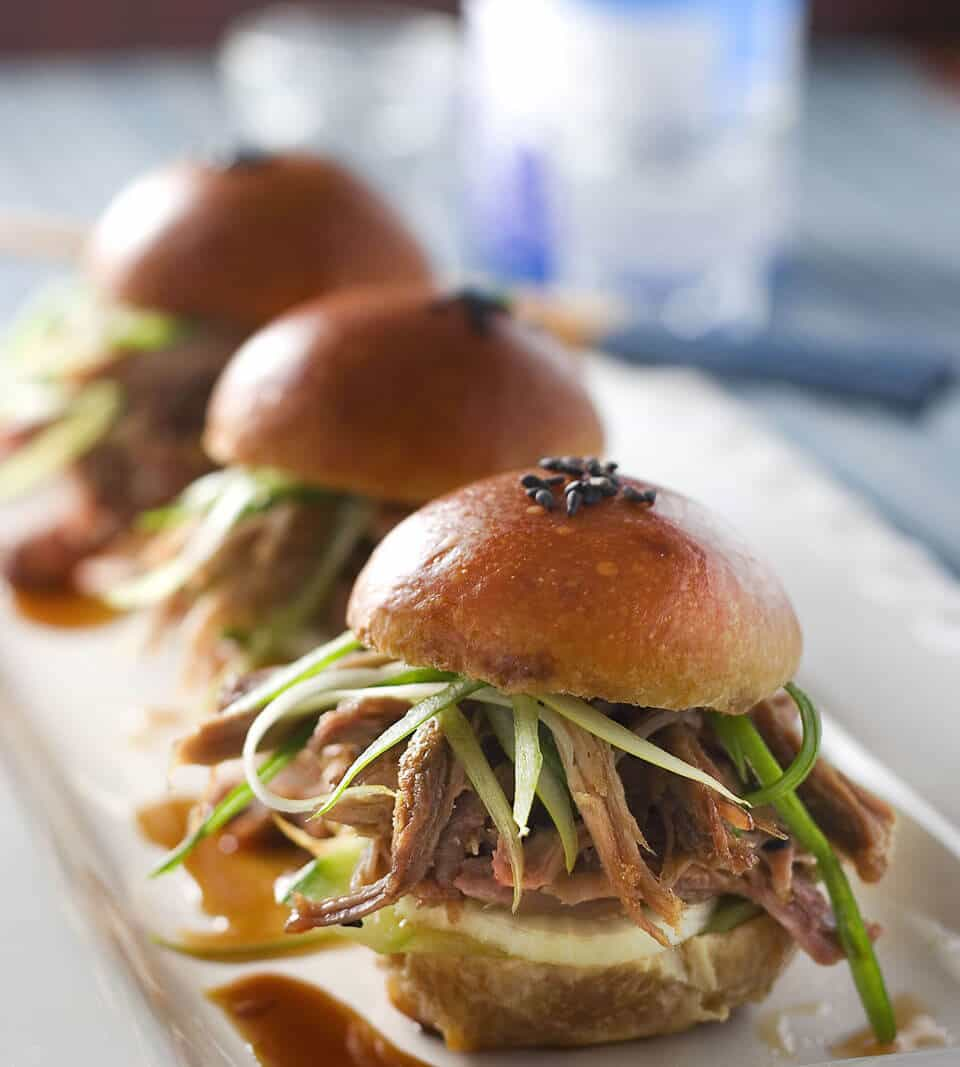 Vietnamese Pulled Pork Sliders