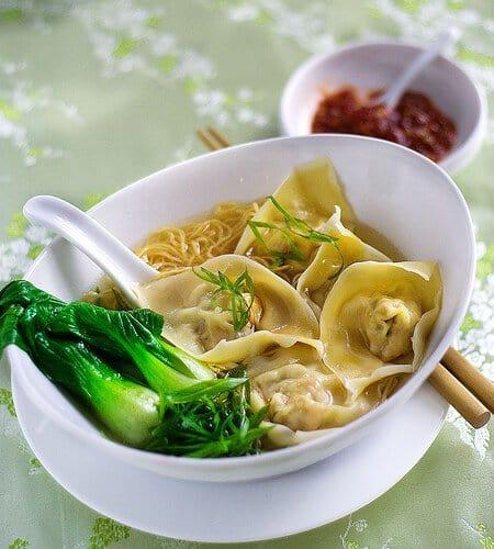 Image result for wonton noodle