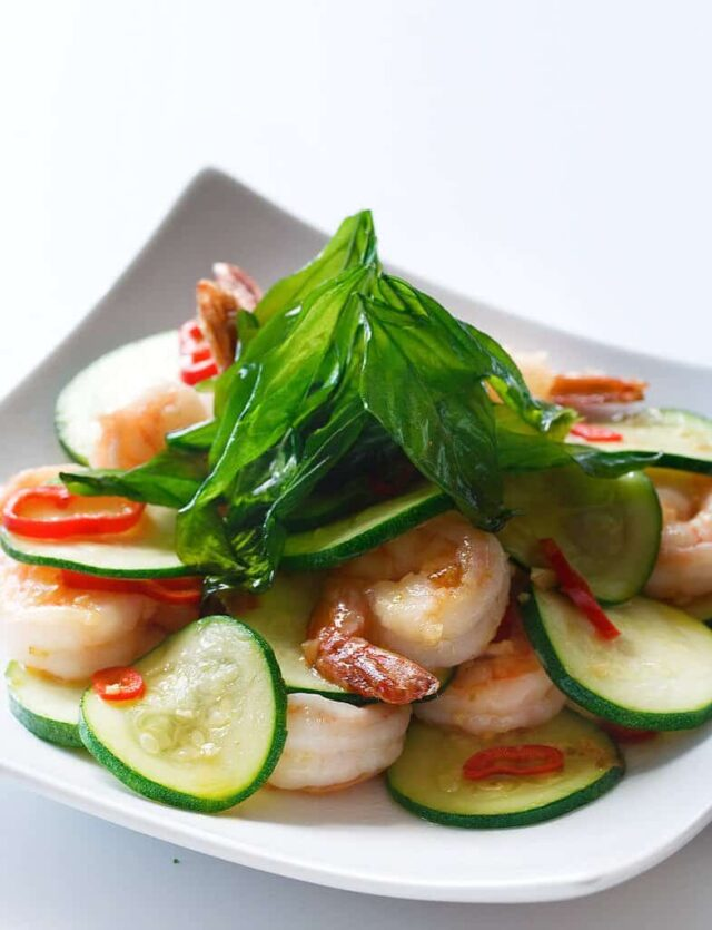 This Shrimp and Zucchini Stir Fry Recipe