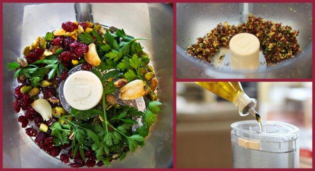 how to use pistachio pesto