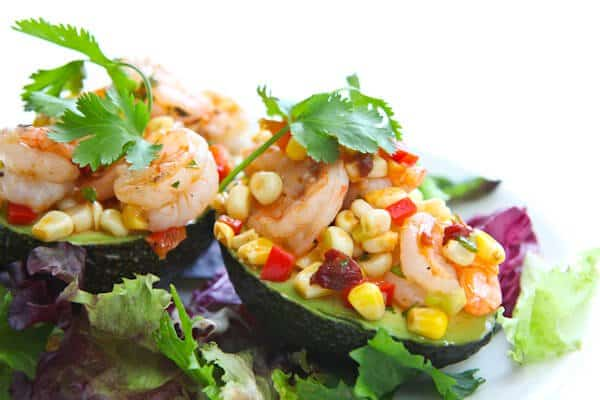 Photo: Shrimp and Avocado Salad with Corn Relish - Steamy Kitchen ...