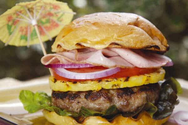 Hawaiian Luau Burger Steamy Kitchen Recipes