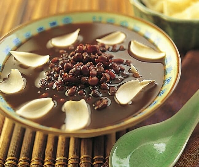 Sweet Red Bean Soup Recipe at New Asian Cuisine.