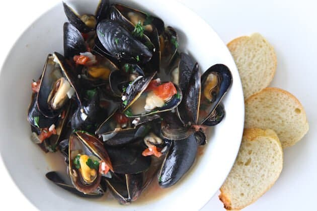Beer Steamed Mussels - Steamy Kitchen Recipes